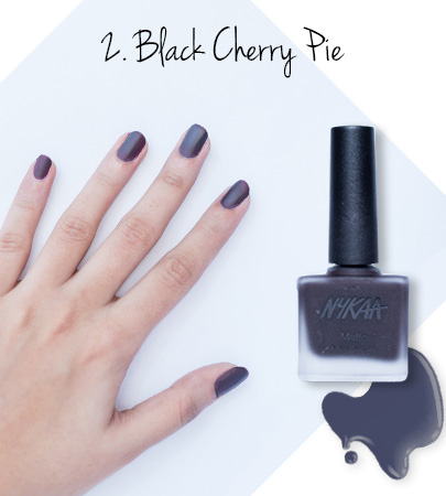 In Review: Nykaa Matte Nail Enamels - 2
