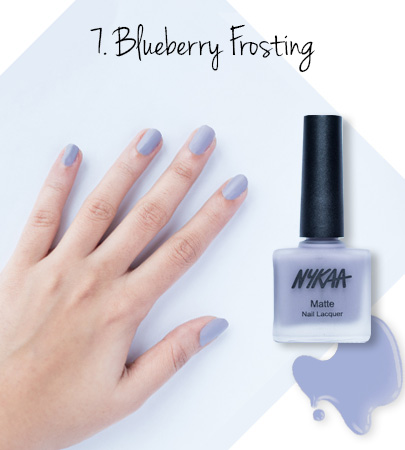 In Review: Nykaa Matte Nail Enamels - 7