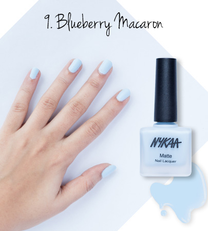 In Review: Nykaa Matte Nail Enamels - 9