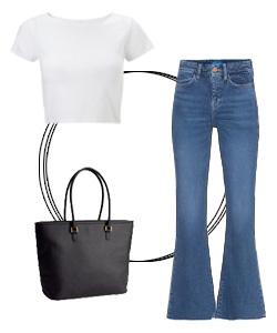 8 White T-shirt styles that ALWAYS work| 1