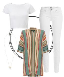 8 White T shirt styles that ALWAYS work - 3