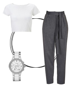 8 White T-shirt styles that ALWAYS work| 4