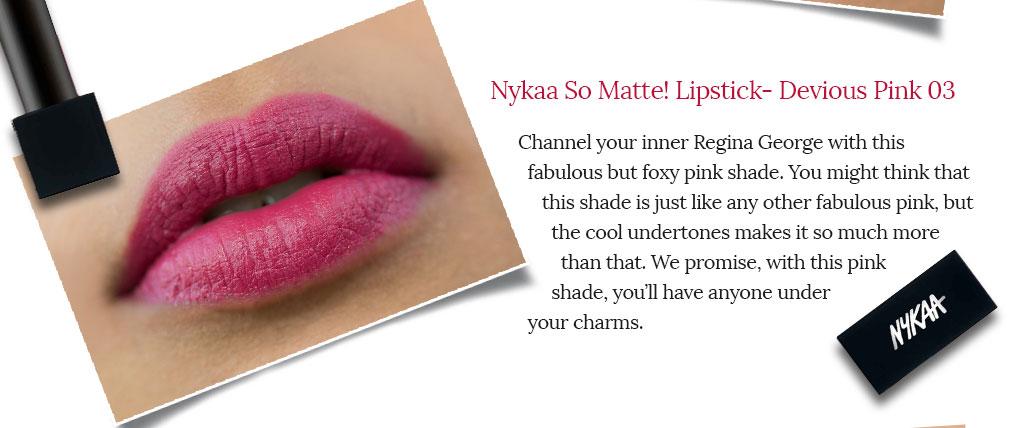 Say hello to Nykaa So Matte! Lipsticks  16