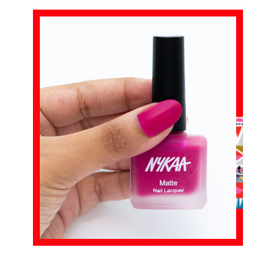In Review: Nykaa Fall Winter Matte Nail Lacquer Collection