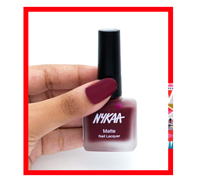 In Review: Nykaa Fall Winter Matte Nail Lacquer Collection  3