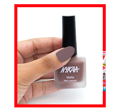 In Review: Nykaa Fall Winter Matte Nail Lacquer Collection  4