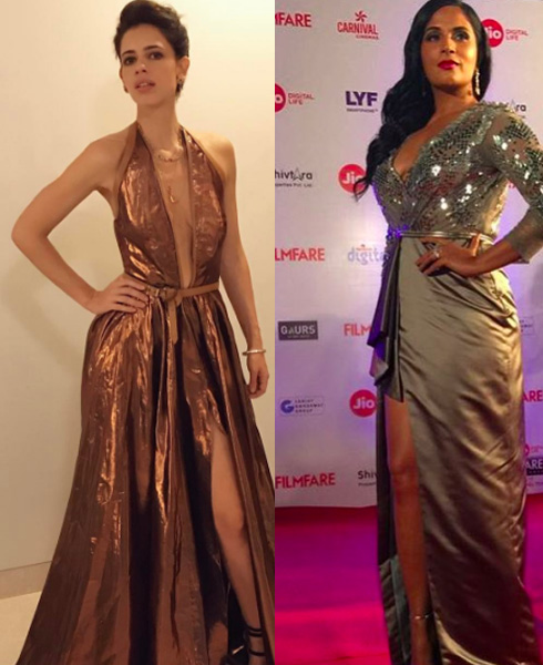 The Filmfare Face Off: Who Wore What Better! - 2