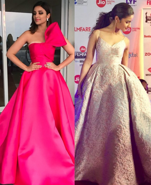 The Filmfare Face Off: Who Wore What Better! - 5
