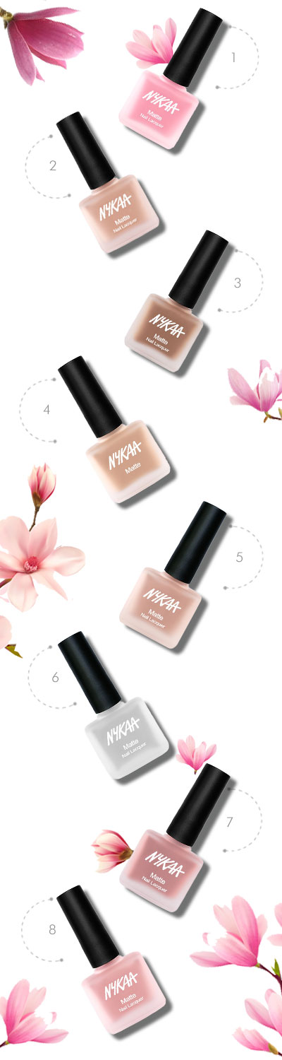 In Review: Nykaa Nude Matte Nail Enamel| 9