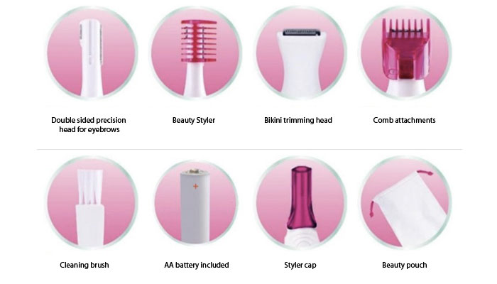 In Review: Veet Sensitive Touch Electric Trimmer for Women| 1