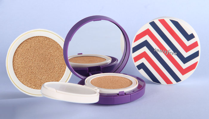 In Review: Innisfree Cushion Compacts - 1