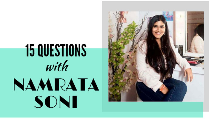 Interview with a Celebrity Makeup Artist - 15 Questions with Namrata Soni | Nykaa's Beauty Book 1