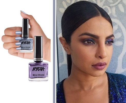 In Review: Nykaa Mirror Chrome Lacquer| 3