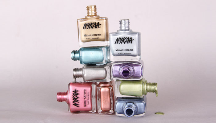 In Review: Nykaa Mirror Chrome Lacquer| 1