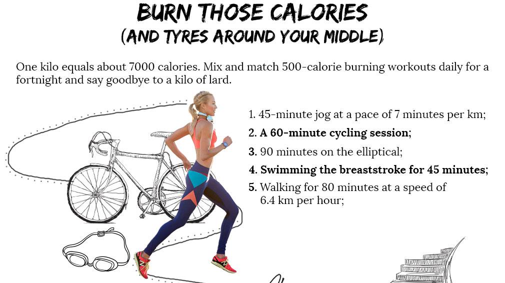 30 ways to lose a kilo| 2