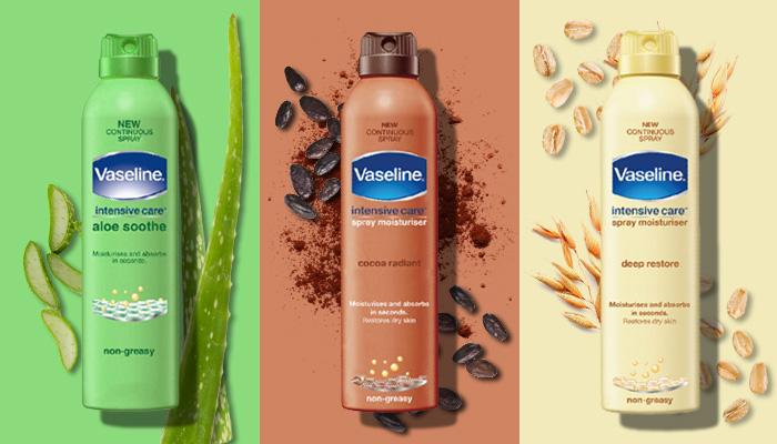 In Review: Vaseline Intensive Care Spray Moisturiser| 1