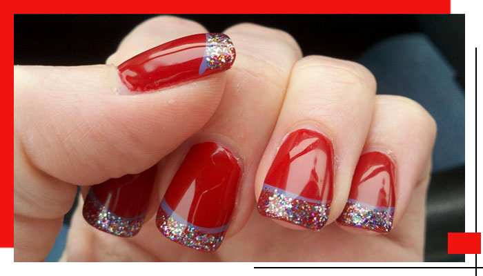 Valentine's Day Nail Art Ideas That Got Us Swooning| 1