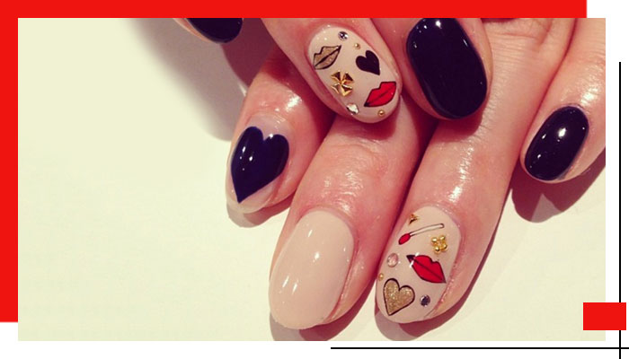 Valentine's Day Nail Art Ideas That Got Us Swooning| 3
