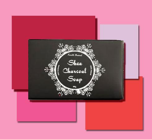 best bathing soap- Karite Buerre Charcoal Soap