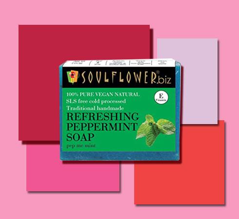 best bathing soap- Soulflower soap