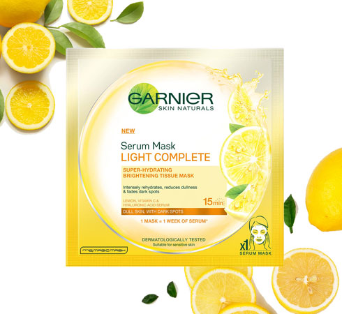 This Just In: Garnier Skin Naturals Serum Masks - 3