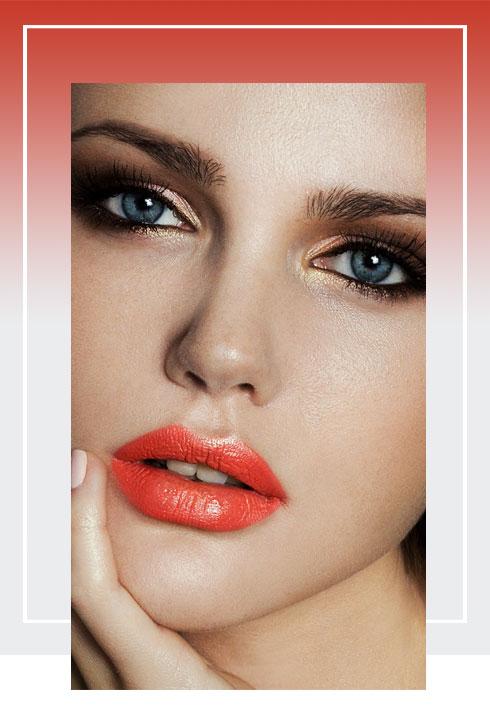 Navratri Makeup Look- Orange Color