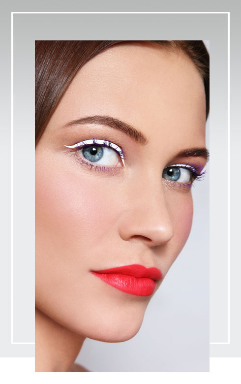 Navratri Makeup Look- White Color