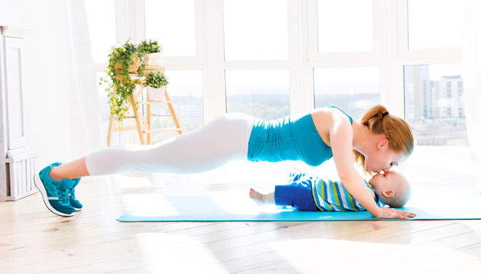 Burn Those Post Delivery Calories Away, Nice & Slow - 1