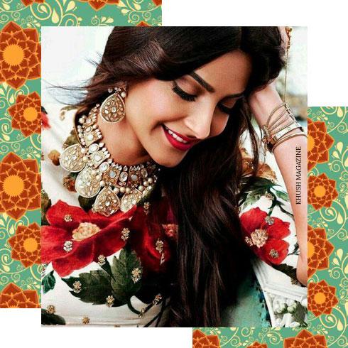 Festive Makeup Looks- Sonam Inspired
