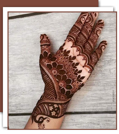 5 Best Mehendi Designs For Weddings-Mehendi Styles To Try| Nykaa's Beauty Book 4