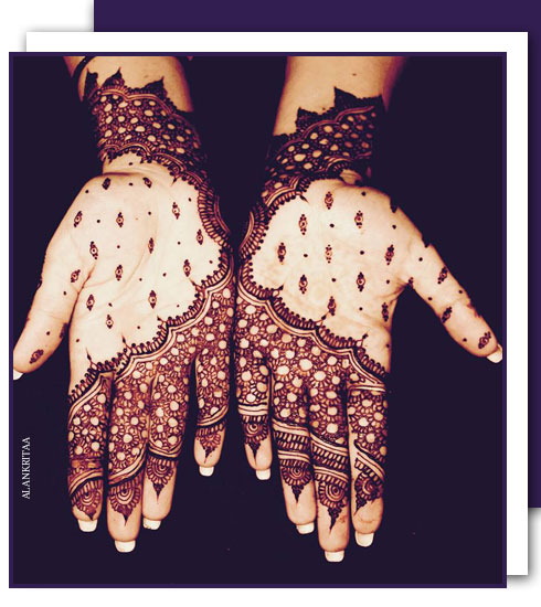 5 Best Mehendi Designs For Weddings-Mehendi Styles To Try| Nykaa's Beauty Book 5
