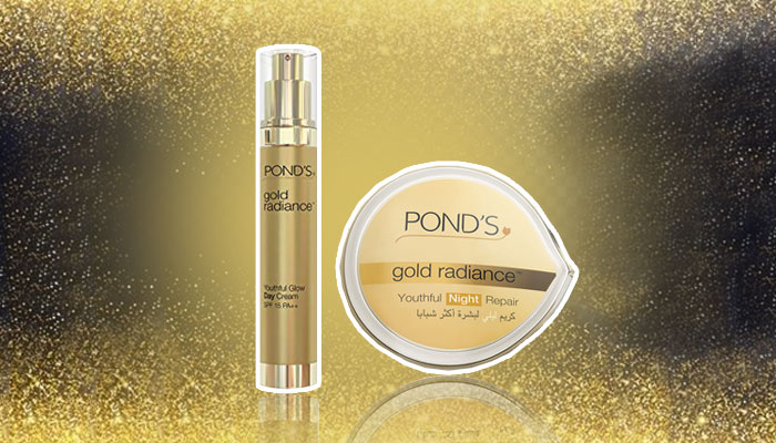 Look Ten Years Younger With Ponds Gold Radiance Range - 1