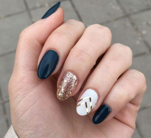 Long Nail Art Design