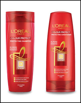 best shampoo for colored hair- L'oreal