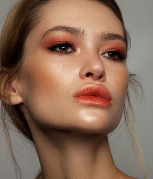 Coral Inspired Makeup To Try This Season - 2