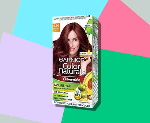 no ammonia hair color- Garnier Color Naturals