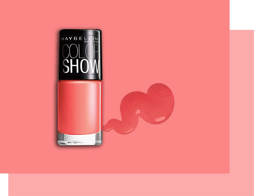 The Living Coral Nail Palette - 3