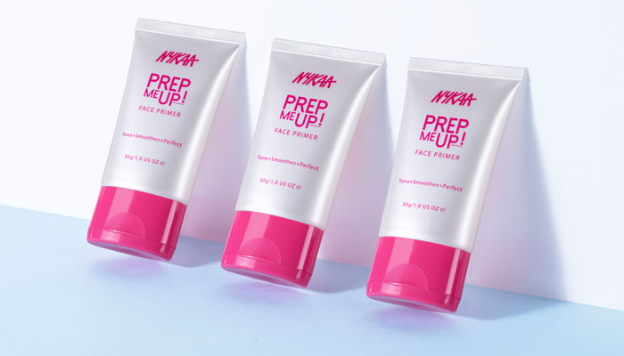 Prime Time For Nykaa Cosmetics With The Prep Me Up Face Primer