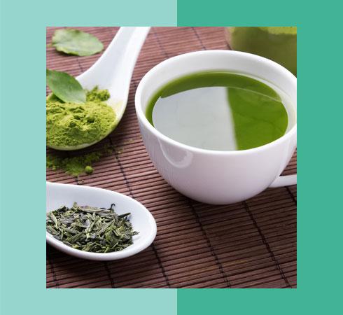 Food For Glowing Skin- Green Tea