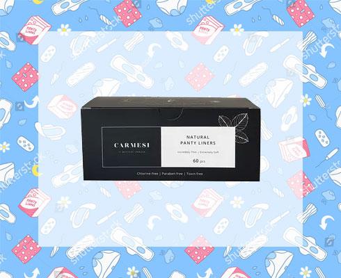 best panty liners- carmesi