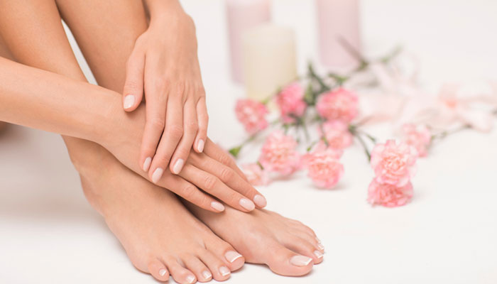 Mask Makeover For Your Hands and Feet - 1