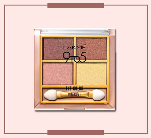 Lakmes 9 to 5 Eyeshadow Quartets Will Help You Nail Any Look - 2