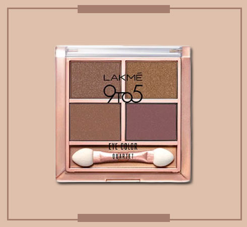 Lakmes 9 to 5 Eyeshadow Quartets Will Help You Nail Any Look - 4