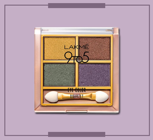 Lakmes 9 to 5 Eyeshadow Quartets Will Help You Nail Any Look - 5