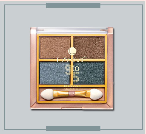 Lakmes 9 to 5 Eyeshadow Quartets Will Help You Nail Any Look - 6