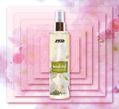 best floral body mist- Nykaa Wanderlust Hawaiian Jasmine
