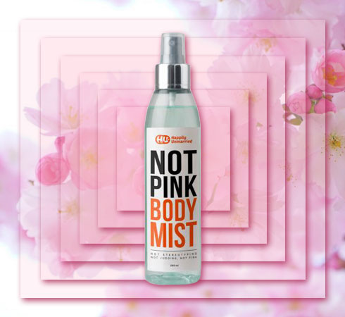 best floral body mist- Happily Unmarried Body Mist