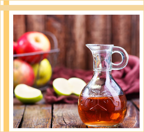 acne remedies- apple cider vinegar