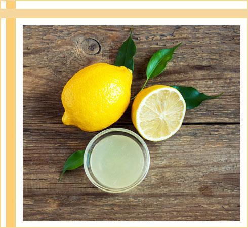 acne remedies- lemon juice