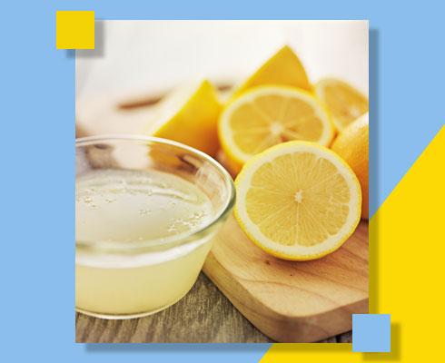 Dandruff Tips- Lemon Juice